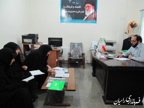 ارزیابی دستگاههای اجرایی شهرستان در حوزه عفاف، حجاب و حقوق شهروندی