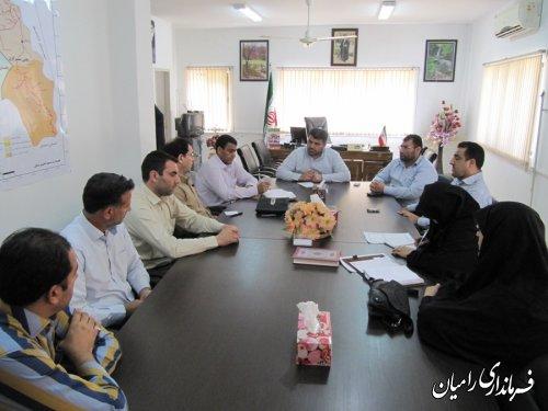 استقرار اداره بنیاد شهید و امور ایثارگران در رامیان یکی از اولویتهای شهرستان است