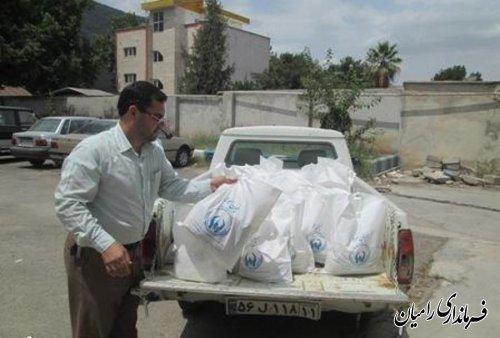 جمع آوری 80 کیسه همیان مولا از کارکنان ادارات رامیان