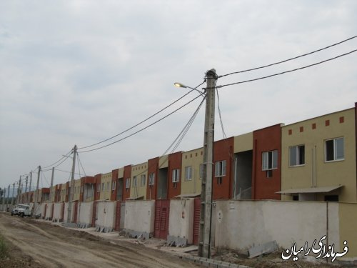 گزارش تصویری پروژه های شاخص هفته دولت شهرستان رامیان