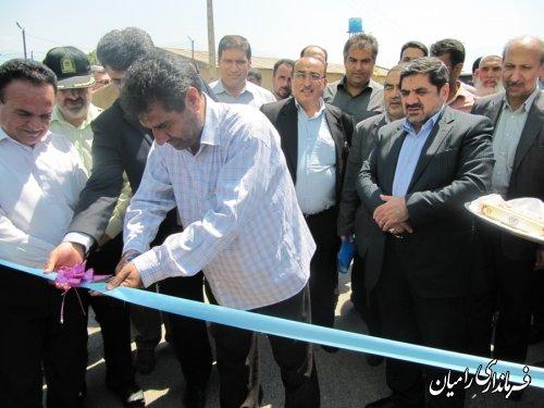 افتتاح فاز یک طرح هادی روستای ارازگل با حضور رئیس بنیاد مسکن کشور