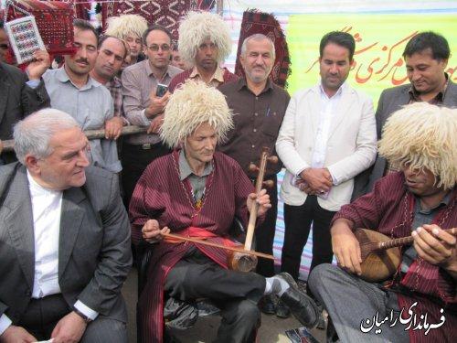 سیزدهمین گرهمایی دهیاران استان گلستان در شهرستان رامیان برگزار شد