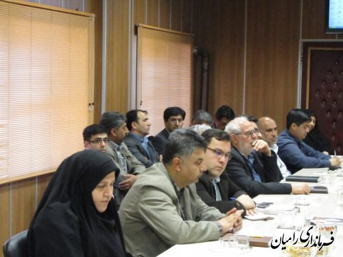 تشکیل اولین جلسه انجمن کتابخانه های عمومی و نهضت مطالعه مفید رامیان در سال 1394
