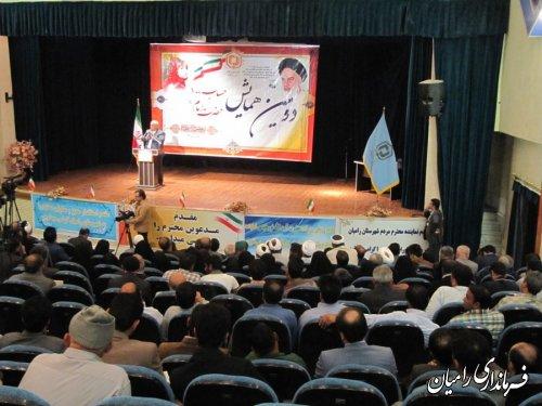 همایش استانی حساب 100 حضرت امام (ره) در رامیان به روایت تصویر