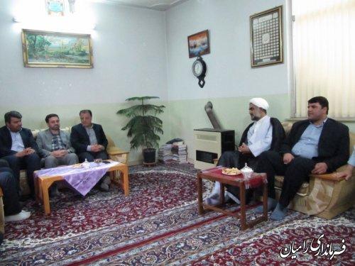 دیدار معاون سیاسی ،امنیتی و اجتماعی استاندار با ائمه جمعه شیعه و سنی رامیان