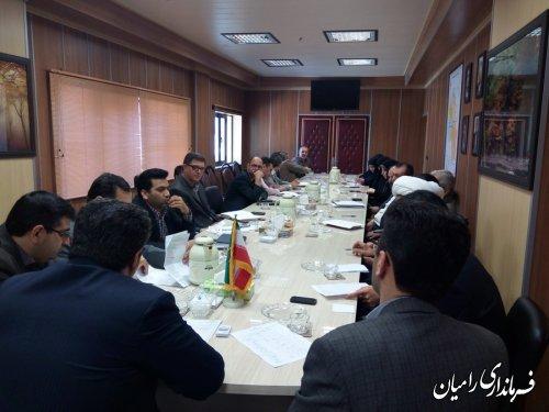 تشکیل ستاد صیانت از حریم امنیت عمومی و حقوق شهروندی شهرستان رامیان