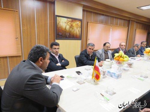 تشکیل اولین جلسه هیأت اجرایی پنجمین دوره انتخابات خبرگان رهبری ، حوزه فرعی رامیان