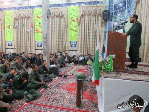 برگزاری یادواره شهدای روستای توران فارس