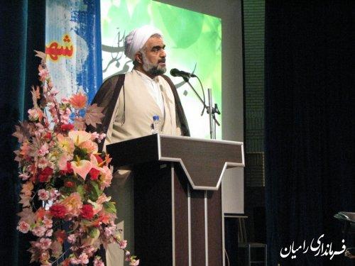 سكان فرمانداري شهرستان راميان به دست مهندس جواد صادقلو سپرده شد