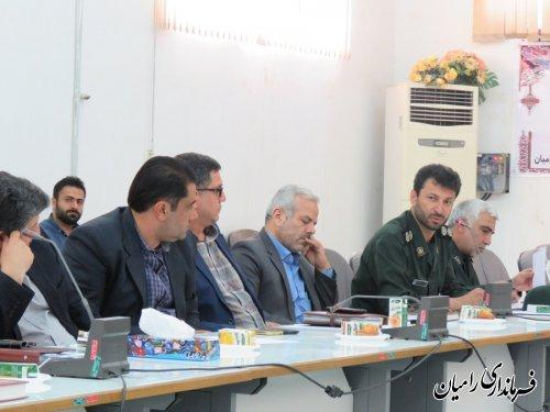 تشکیل ستاد گرامیداشت سوم خرداد و ارتحال امام (ره) و یوم ا... 15 خرداد در شهرستان رامیان