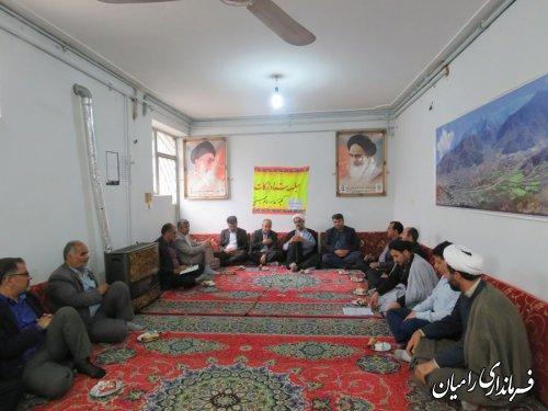تشکیل ستاد زکات شهرستان رامیان