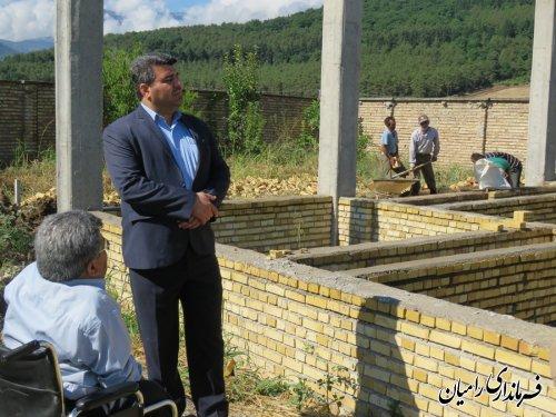 دیدار مهندس صادقلو فرماندار شهرستان رامیان از بهزیستی