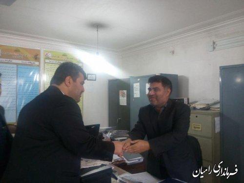 بازدید سرزده فرماندار رامیان از ادارات شهرستان