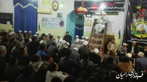 برگزاری مراسم سوگواری اربعین حسینی در شهر تاتارعلیا