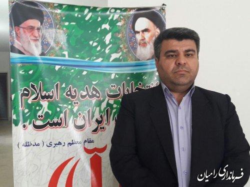 ثبت نام96نامزد انتخابات پنجمین دوره شوراهای اسلامی شهر و روستا در شهرستان رامیان