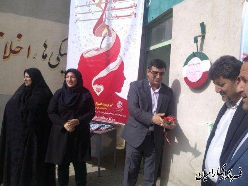 برگزاری جشنواره غذای سالم دانش آموزی در شهرستان رامیان