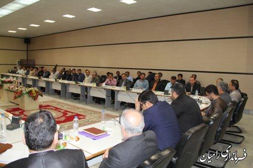 جلسه توجیهی نامزدهای شوراهای اسلامی شهرستان رامیان