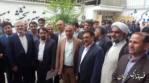 افتتاح درمانگاه تامین اجتماعی شهر رامیان با حضور مدیرعامل سازمان تامین اجتماعی کشور