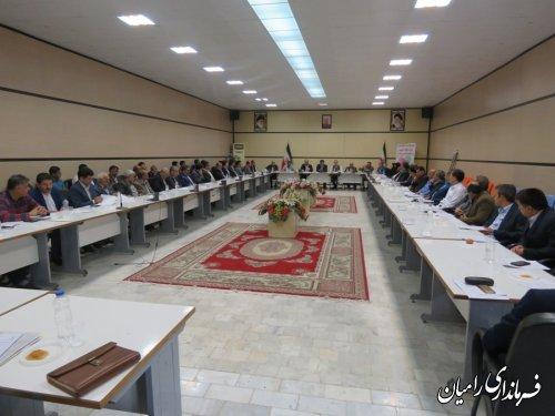 تشکیل آخرین جلسه آموزش قوانین و مقررات انتخاباتی به نمایندگان فرماندار در شهرستان رامیان