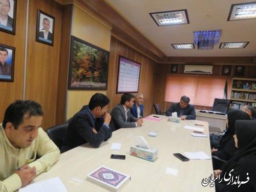 تشکیل جلسه طرح بشیر، یا شیوه کاهش طلاق در شهرستان رامیان