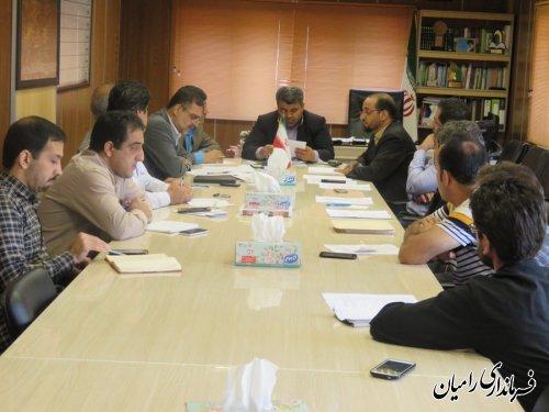 تشکیل جلسه بررسی آخرین وضعیت ایمنی، فنی و پرسنلی معدن ملچ آرام تحتانی