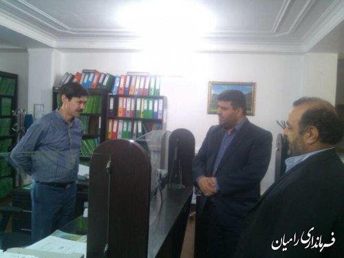 بازدید از اداره تامین اجتماعی و بهزیستی به مناسبت روزبهزیستی و تامین اجتماعی