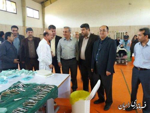 بازدید فرماندار از کلینیک تخصصی دندانپزشکی شهرستان رامیان