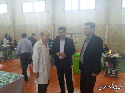 بازدید معاون فرماندار رامیان از کلینیک تخصصی دندانپزشکی شهرستان