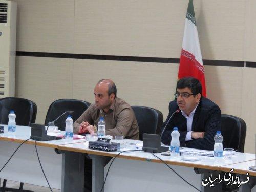 جلسه کارگروه فرهنگی،اجتماعی با موضوع مبارزه با مواد مخدر در شهرستان رامیان برگزار شد
