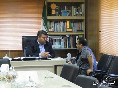 ملاقات مردمی فرماندار رامیان برگزار شد