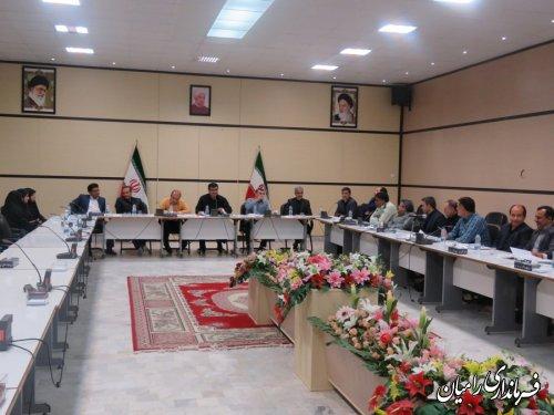 جلسه شورای هماهنگی مبارزه با مواد مخدر شهرستان رامیان برگزار شد