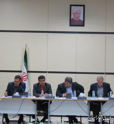 جلسه کارگروه اشتغال شهرستان رامیان برگزارشد