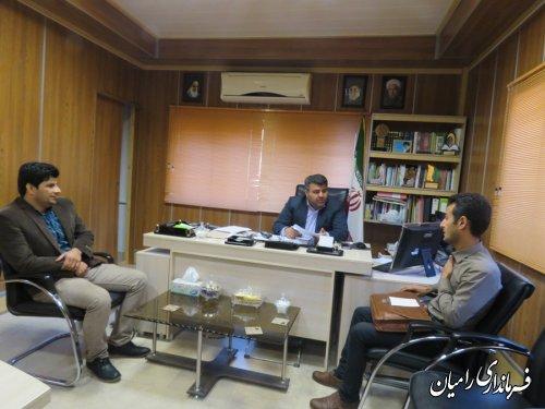 ملاقات عمومی فرماندار شهرستان رامیان با مردم شریف شهرستان انجام شد