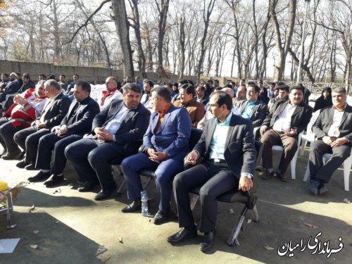 همایش بزرگ دهیاران شهرستانهای رامیان- آزادشهر برگزار شد