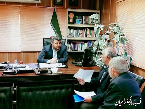ملاقات عمومی فرماندار شهرستان رامیان برگزار شد