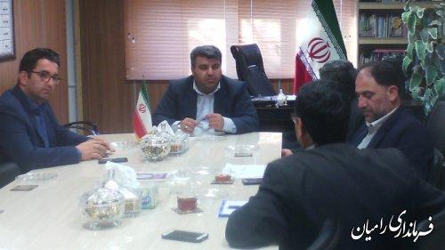 دومین جلسه شورای اسلامی شهرستان رامیان برگزار شد