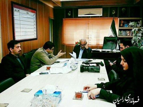 بهره برداری و آغاز عملیات اجرایی ۲۳۲ پروژه عمرانی، اقتصادی شهرستان رامیان در دهه فجر