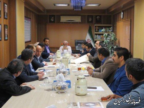جلسه کارگروه اشتغال شهرستان رامیان برگزار شد