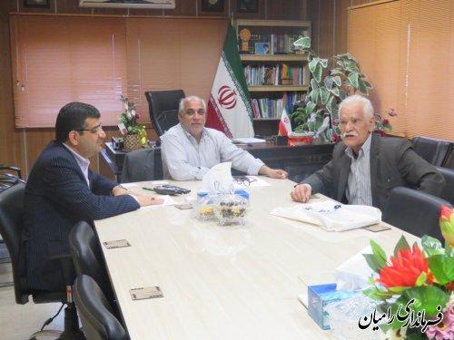 ملاقات عمومی فرماندار شهرستان رامیان به صورت چهره به چهره برگزار شد