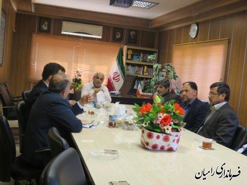 جلسه شورای شهرستان رامیان برگزار شد