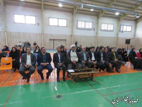 جشنواره طبخ آبزیان در شهرستان رامیان برگزار شد