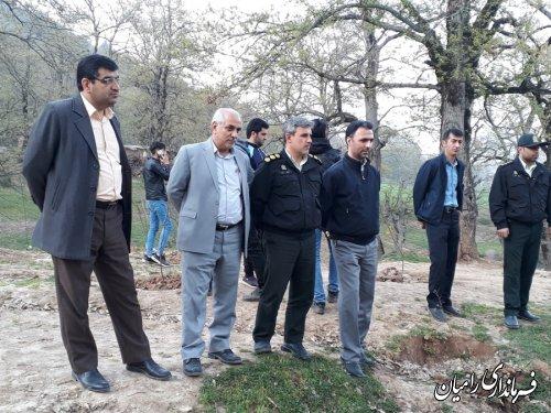 پیدا شدن جسد جوان غرق شده پس از 11 روز در چشمه گل رامیان