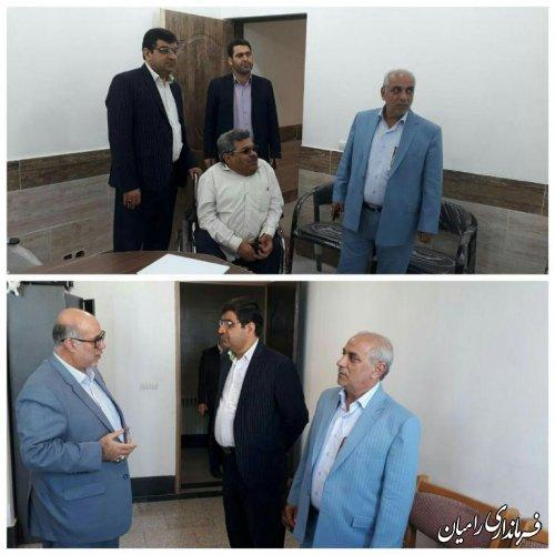 بازدید فرماندار شهرستان رامیان از ادارات بهزیستی و کمیته امداد امام خمینی (ره) شهرستان