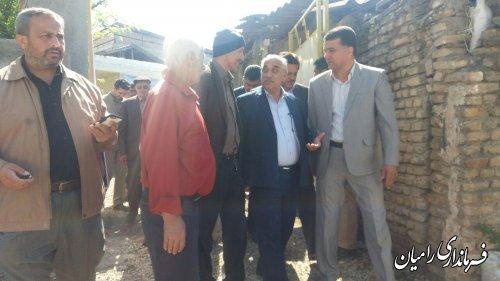 افتتاح  واحدمسکونی روستایی درقالب طرح تامین مسکن خانوارهای دارای حداقل دو معلول