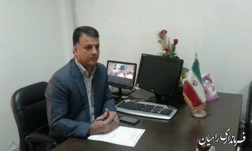 تقدیروتشکرابراهیمی بخشدارفندرسک ازحضورگسترده مردم شریف فندرسک درنمازعیدفطر