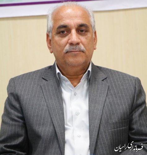 پیام تبریک فرماندار شهرستان رامیان به مناسبت عید سعید قربان