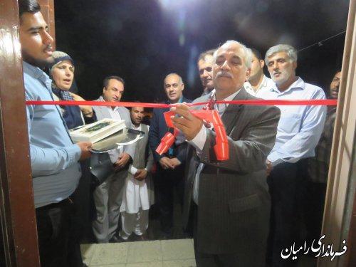 افتتاح مرکز مشاوره شغلی در دهیاری روستای قره قاچ بخش مرکزی شهرستان رامیان