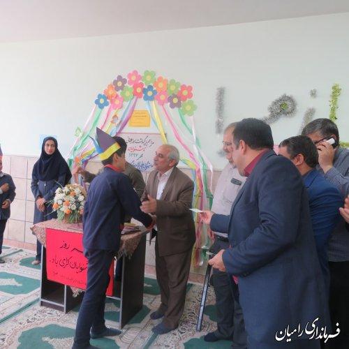 فرماندار رامیان درمراسم گرامیداشت روز جهانی ناشنوایان در مدرسه استثنایی باغچه بان