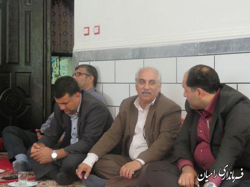 بررسی مسائل و مشکلات مردم روستای امامیه فندرسک با حضور فرماندار رامیان