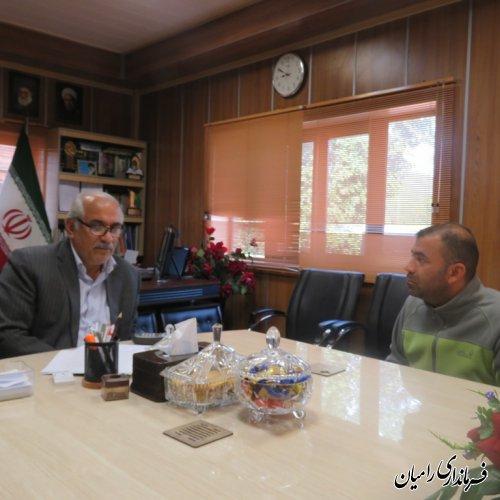 ملاقات عمومی و چهره به چهره فرماندار رامیان با مردم شریف این شهرستان